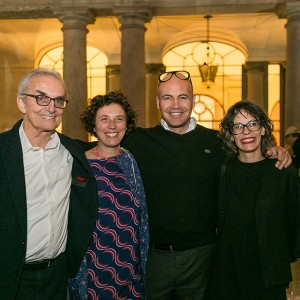Mosca Partners, Billy Zane And Carola Bestetti From Living Divani - Photo© Fabio Bortot