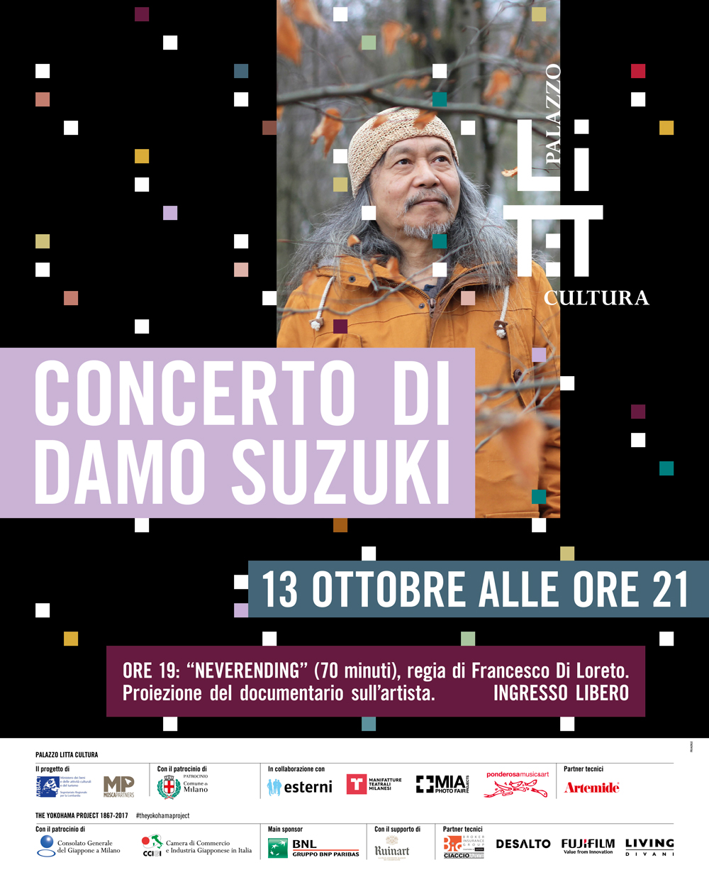 Concert By Damo Suzuki And Neverending Projection