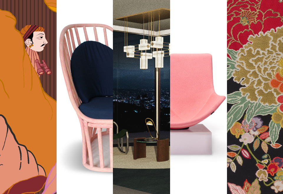 The Litta Variations / Opus 5 – News #8/2019 – Jaipur Rugs, AlvinT, Babled Design, Atelier De Troupe, Kawashima Selkon Textiles
