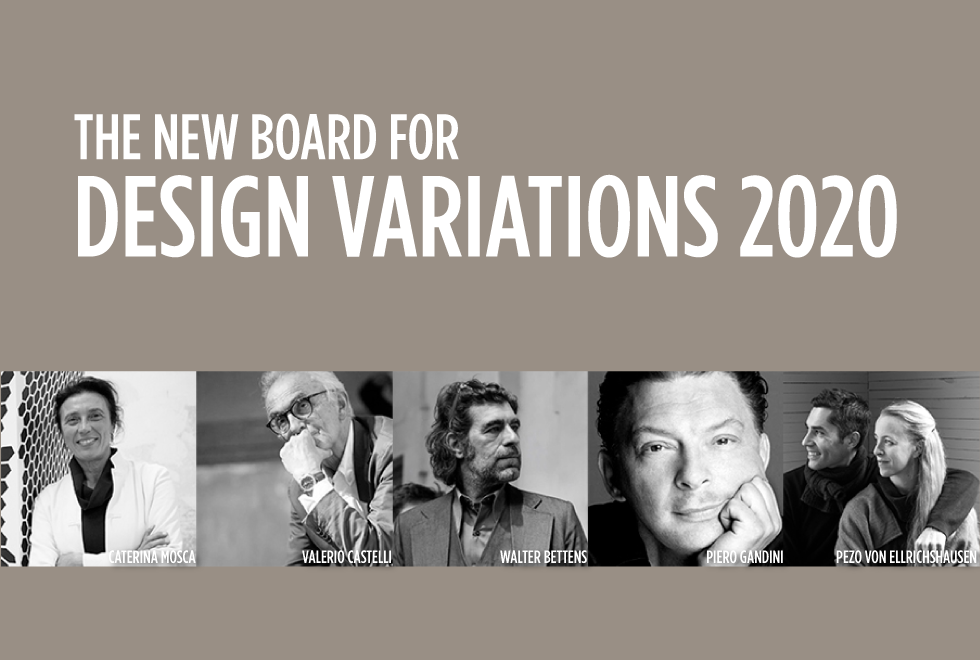 Design Variations 2020 – News #13/2019 – The Board